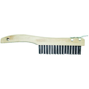 Allway  1-1/16 in. W x 10.75 in. L Carbon Steel  Wire Brush with Scraper