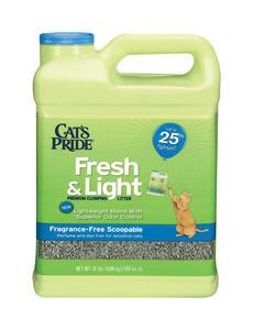 Cat S Pride Fresh Amp Light No Scent Cat Litter 15 Lb Ace