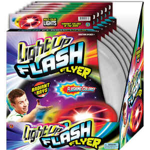 Ja-Ru  Light Up Flash Flyer  Toy  Plastic