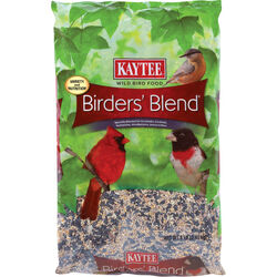 Kaytee Birders Blend Songbird Black Oil Sunflower Seed Wild Bird Food 8 lb.
