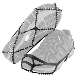 Yaktrax WALK Unisex Poly Elastomer Blend/Steel Snow and Ice Traction Black W 2.5-6/M 1-4.5 Wa