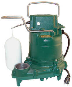 Zoeller  3/10 hp 2580 gph Plastic  Submersible Sump Pump