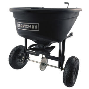 Craftsman  12 ft. W Tow Behind  Seeder/Spreader  For Fertilizer 100 lb. capacity