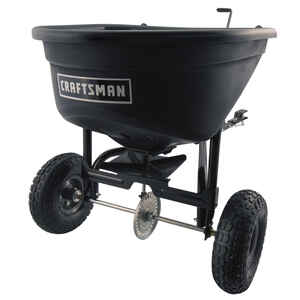 Craftsman  12 in. W Tow Behind  Seeder/Spreader  For Fertilizer 100 lb. capacity