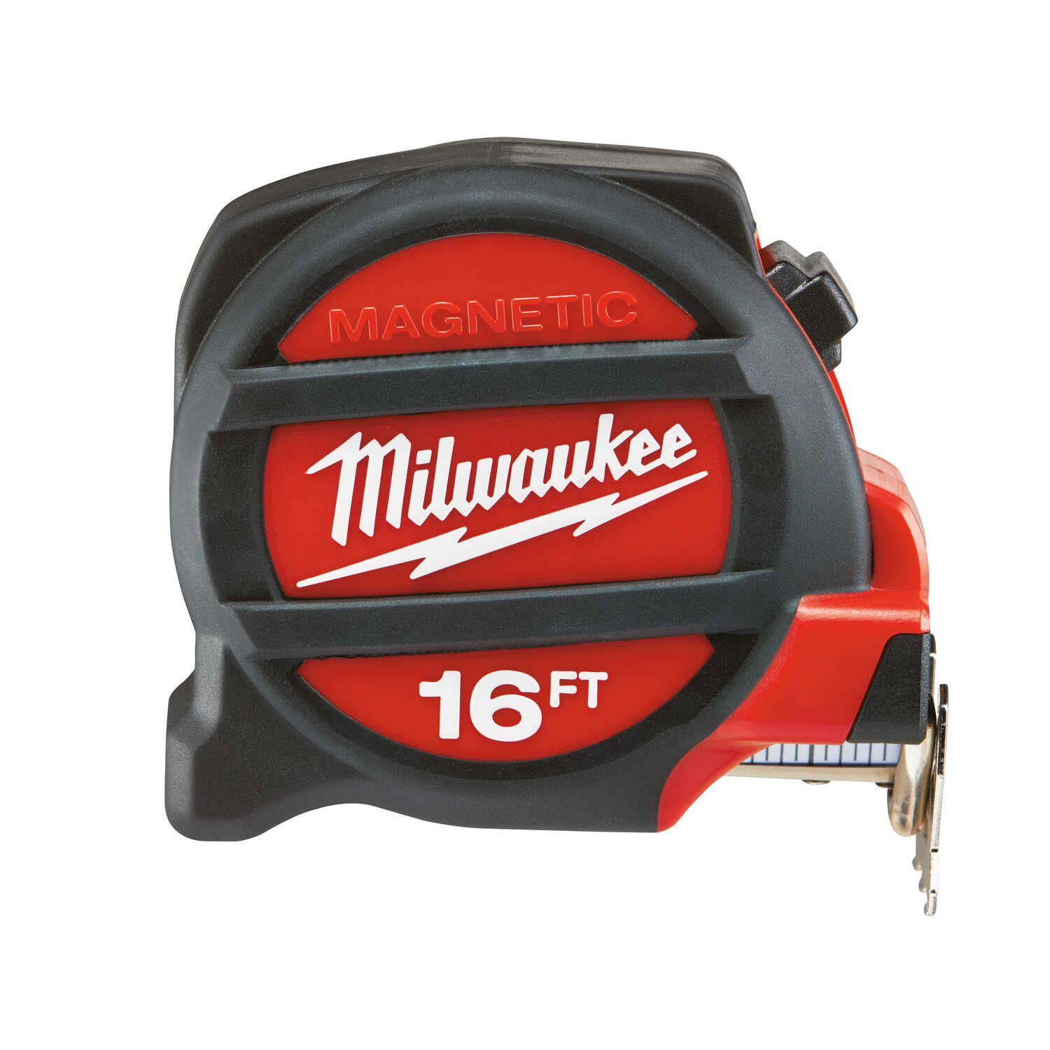 Milwaukee  25 ft. L x 1.5 in. W Premium  Tape Measure  Red  2 pk