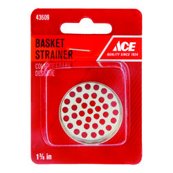 Ace  1-3/8 in. Dia. Stainless Steel  Replacement Strainer Basket
