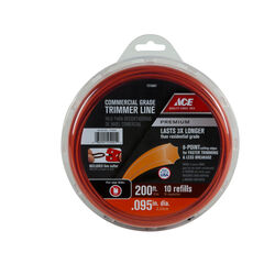Ace Premium Commercial Grade 0.095 in. Dia. x 200 ft. L Trimmer Line