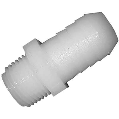 Green Leaf  Nylon  3/4 in. Dia. x 1/2 in. Dia. Adapter  1 pk