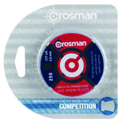Crosman 0.177 7.4 Grain Air Rifle Pellets 250 Count pk