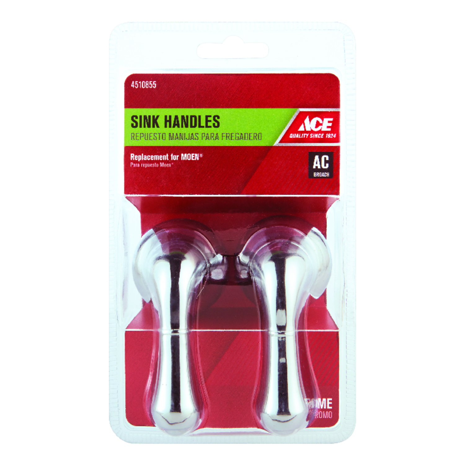 Ace Lever Chrome Hot and Cold Faucet Handles - Ace Hardware