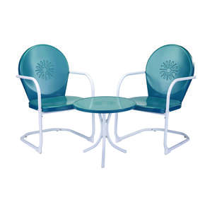 Living Accents  3 pc. Bel Air  Powder Coated  Bistro Set