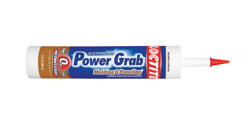 Loctite  Power Grab Molding & Paneling  Paste  Construction Adhesive  9 oz.