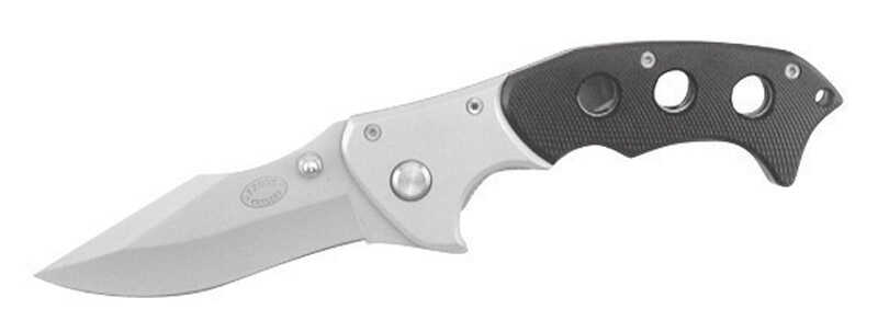 Frost Cutlery  Aggressor  Black  Stainless Steel  8 in. Pocket Knife