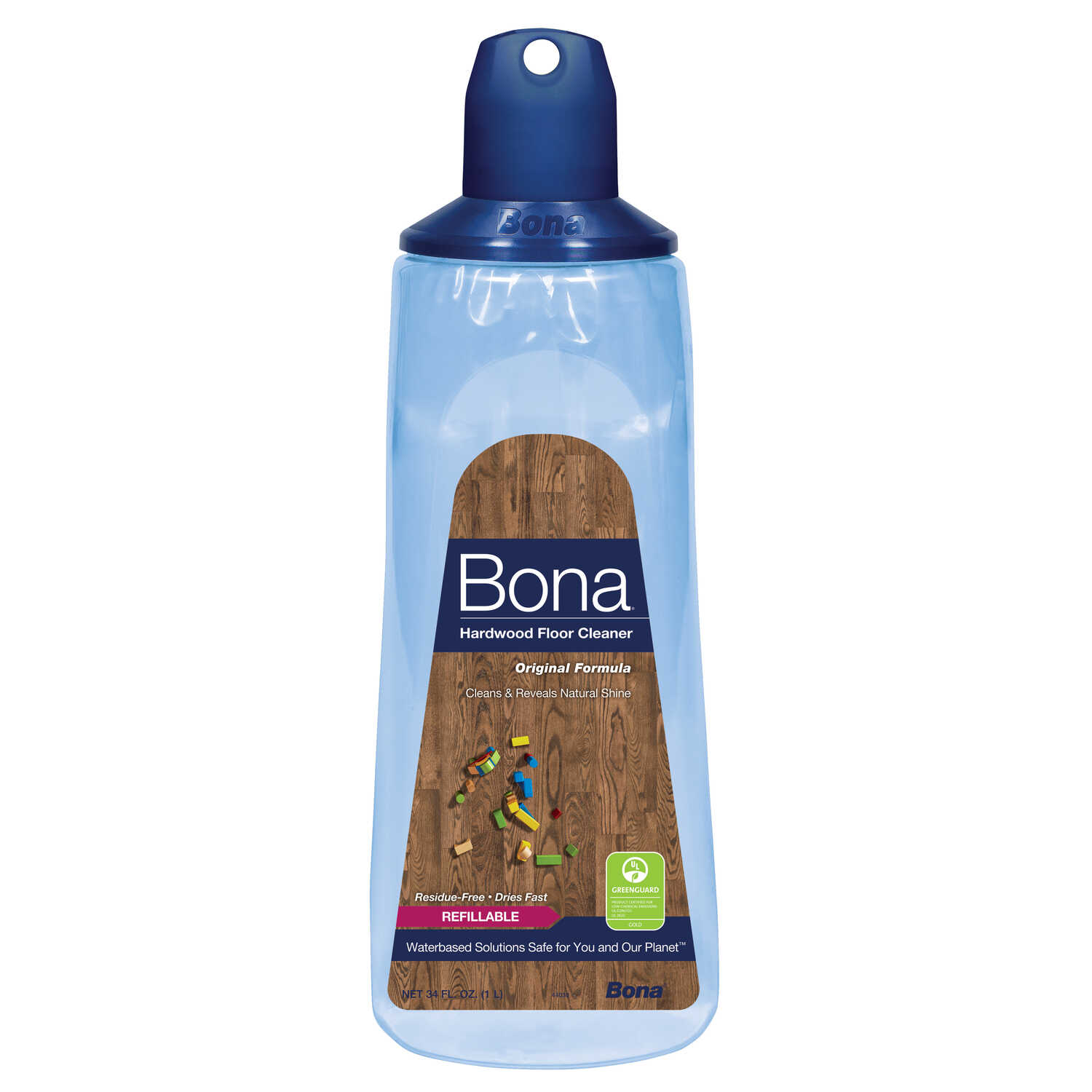 Bona  No Scent Floor Cleaner Refill  34 oz. Liquid