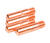 Forney  5.75 in. L x 1.88 in. W Contact Tip  Copper  4 pc.