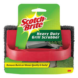 Scotch-Brite  Heavy Duty  Scrubber Sponge  For Grill 1 pk