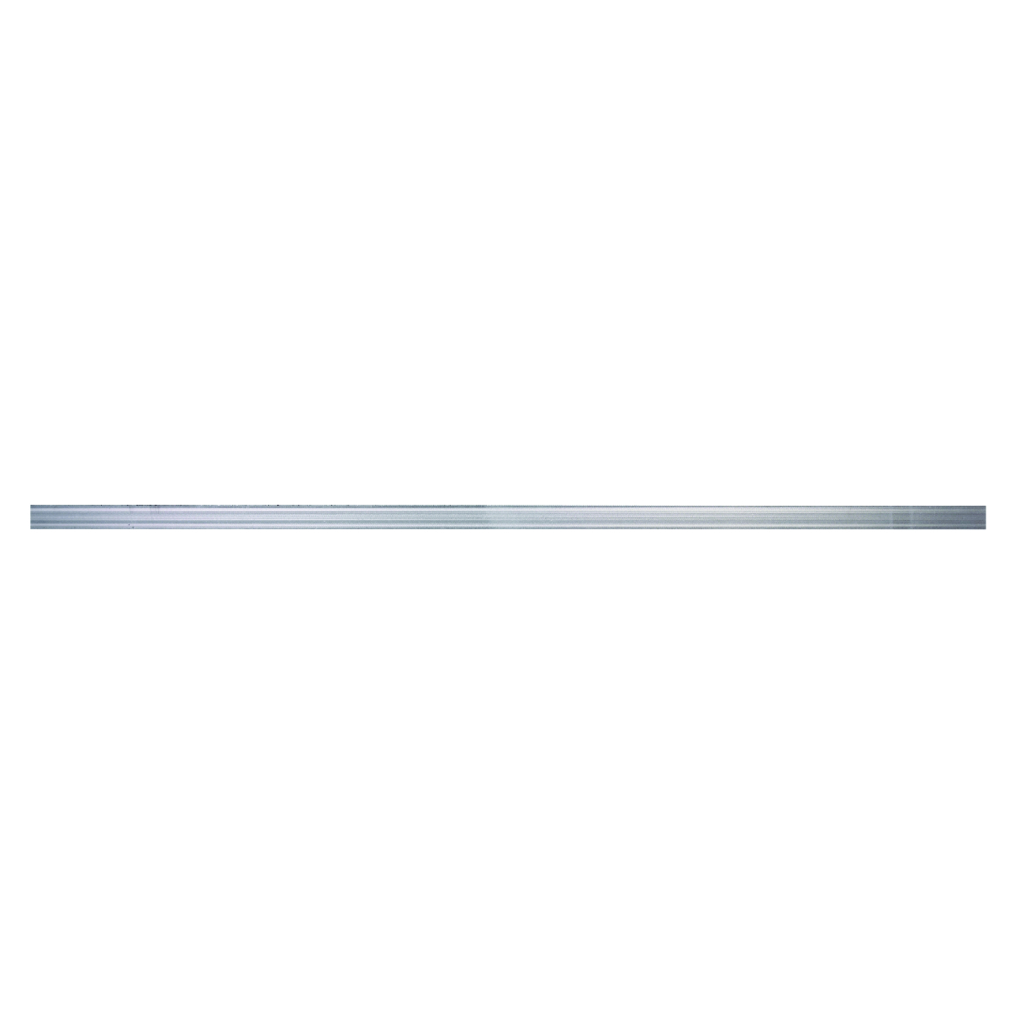 Boltmaster  0.0625 in.  x 1.25 in. W x 4 ft. L Weldable Aluminum Flat Bar  5 pk