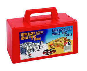 Flexible Flyer  Snow Block Maker  Injection Molded Plastic  Plastic  Snow Block Maker  9.75 in.