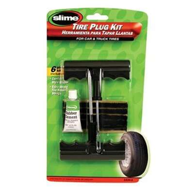 Slime  T Handle  Tire Plug Kit  For All