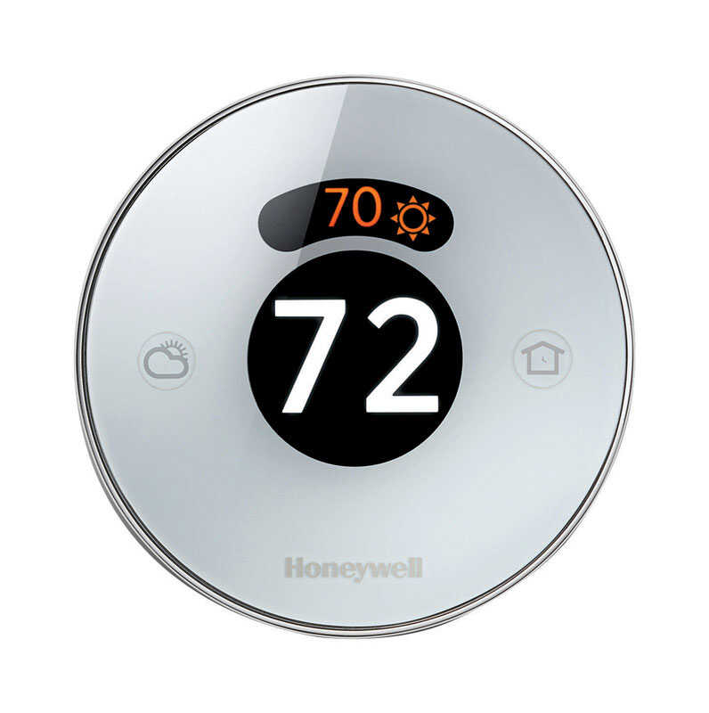 Honeywell  Built In WiFi Heating and Cooling  Dial  Smart Thermostat
