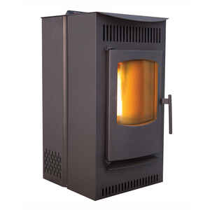Castle Serenity 30000 Btu 1500 Sq Ft Wood Pellet Stove