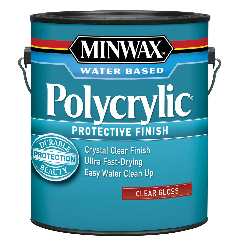 Minwax Gloss Clear Polycrylic 1 gal  - Ace Hardware