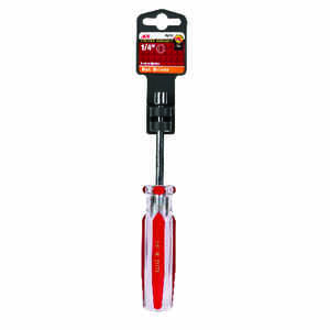 Ace  1/4 in. SAE  7 in. L Nut Driver  1 pc.