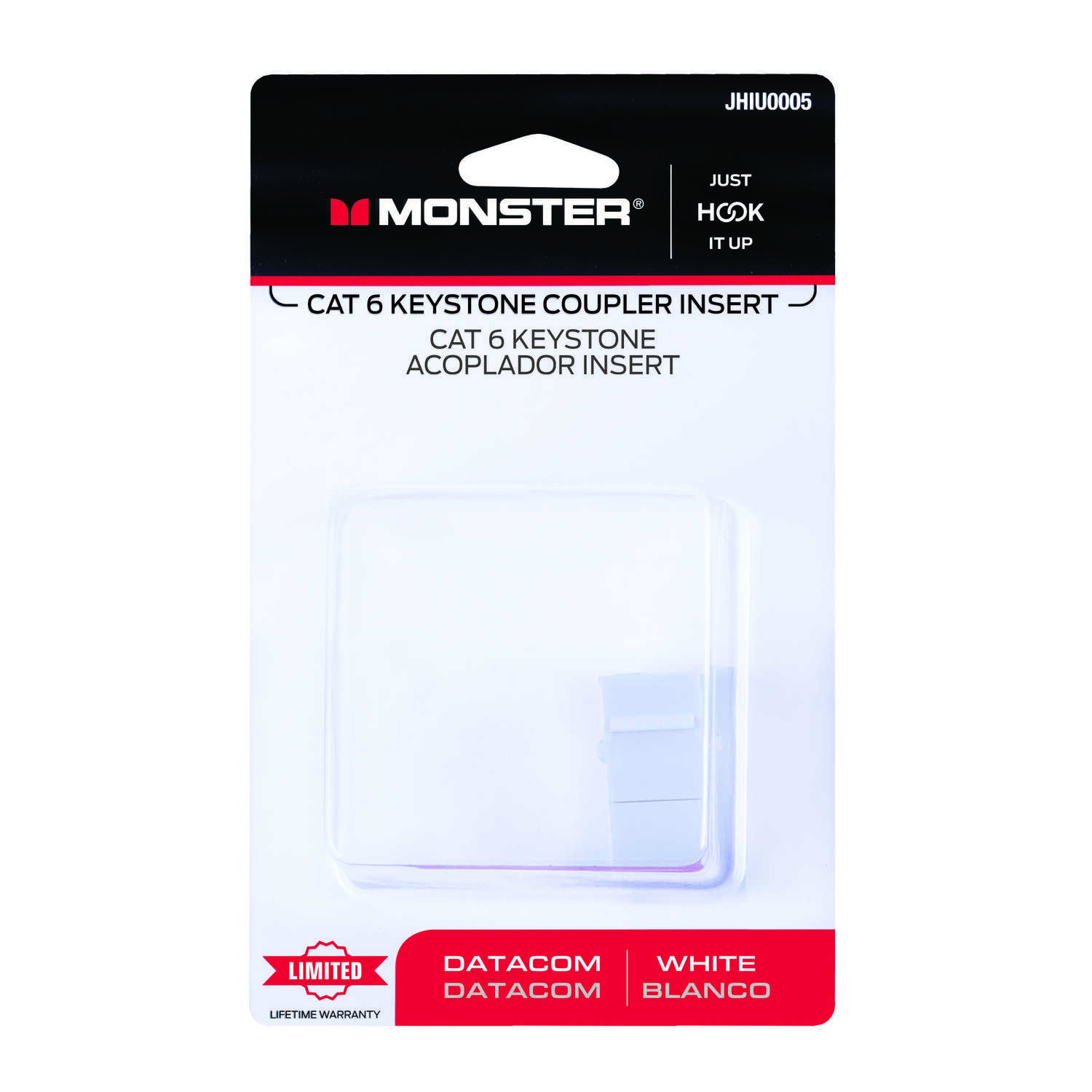 Monster Cable  Hook It Up  Category 6  In-Line Coupler