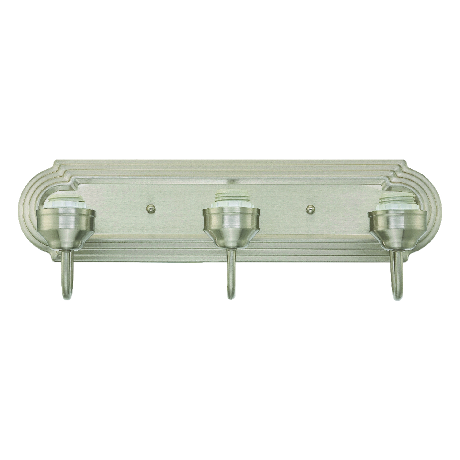 Westinghouse  Brushed Nickel  3  Wall Sconce