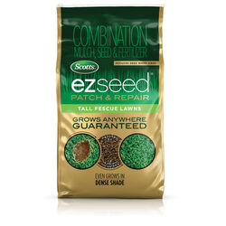 Scotts  EZ Seed Patch & Repair  Tall Fescue  Sun/Shade  Seed, Mulch & Fertilizer  10 lb.