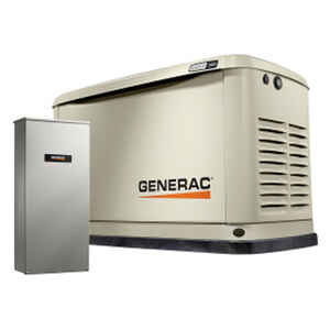 Generac  Guardian  10000 watts White  Generator