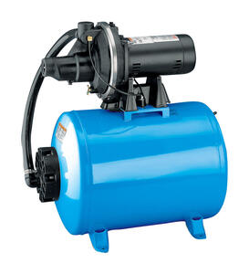 Flotec  19 gal. Thermoplastic  33 in. H x 44-1/4 in. L x 17-1/4 in. W 10.2  3/4  Shallow Well Jet Ta