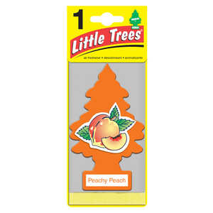 Little Trees  Peachy Peach  1 pk Car Air Freshener