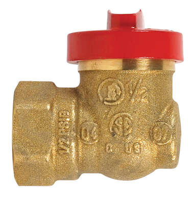 B&K  ProLine  1/2 in. Brass  Threaded  Gas Ball Valve