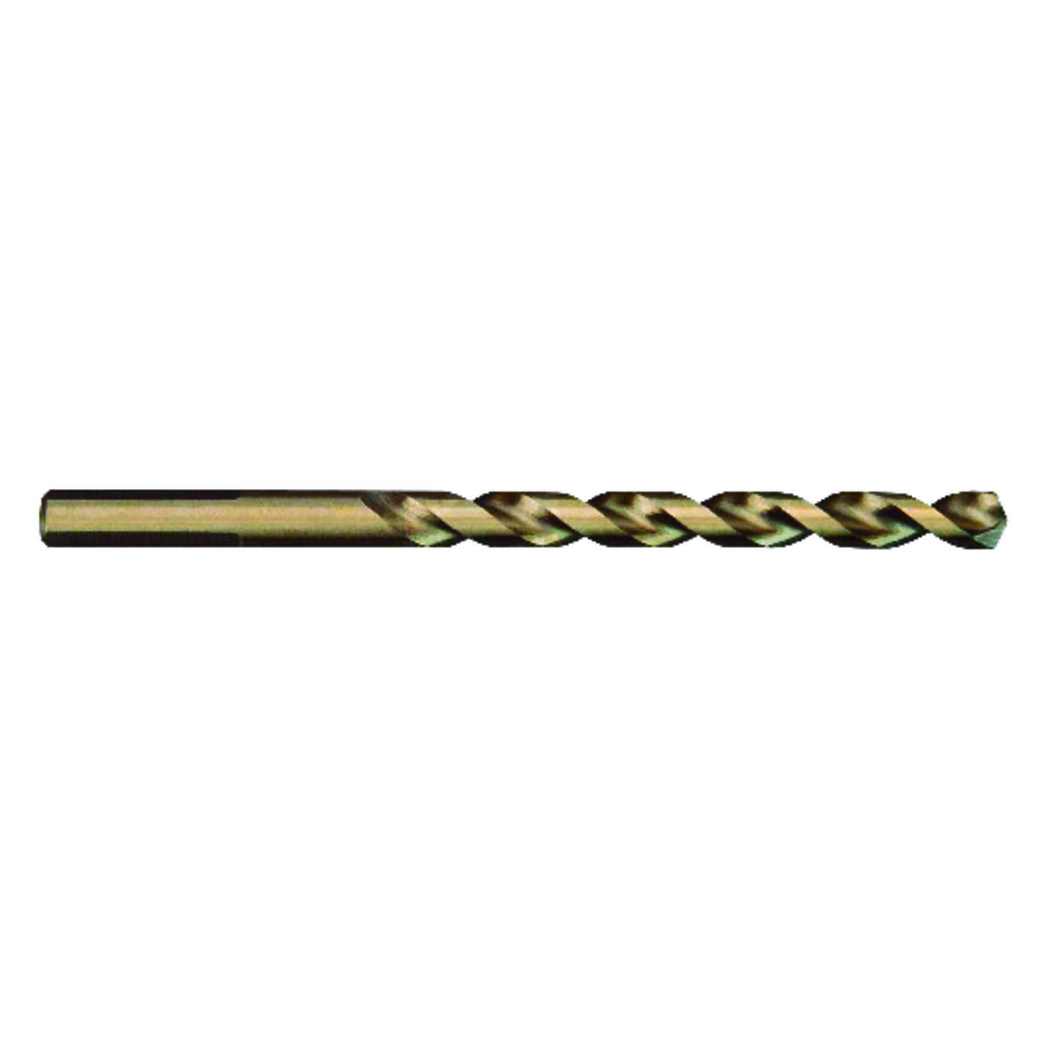 Milwaukee  RED HELIX  3/16 in. Dia. x 3-1/2 in. L Drill Bit  3-Flat Shank  Cobalt Steel  1 pc. THUND