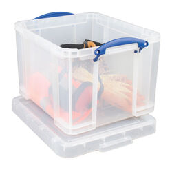 Really Useful Box  12-3/16 in. H x 15-5/16 in. W x 18-7/8 in. D Stackable Storage Box