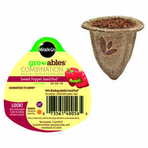 Miracle-Gro  Groables  Seed Pod  1 pk