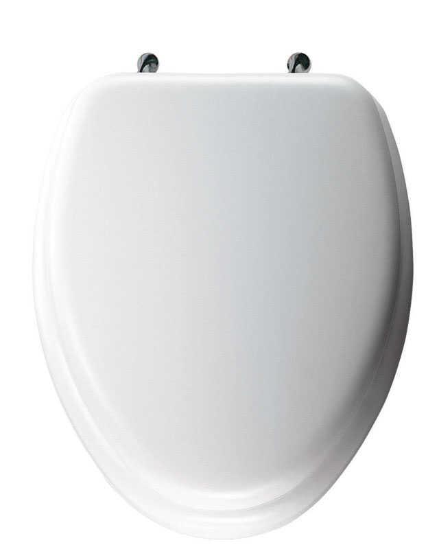 Mayfair Elongated White Vinyl Toilet Seat Ace Hardware