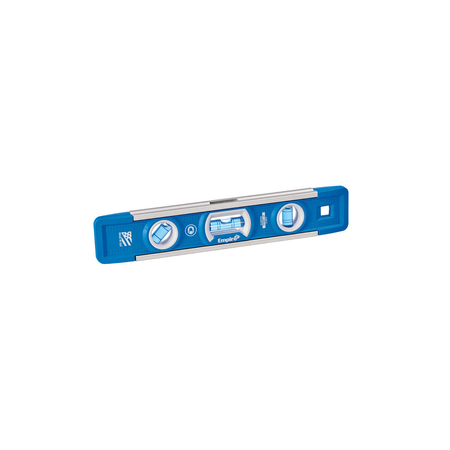 Empire  True Blue  9 in. Aluminum  Magnetic Torpedo  Level  3 vial