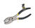 Steel Grip  8 in. Carbon Steel  Slip Joint Pliers