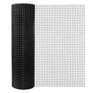 Mega Roll  48 ft. H x 100 ft. L 16 Ga. Black  Poultry Fence