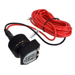 Custom Accessories  12 volt Black/Red  Socket  1 pk Universal