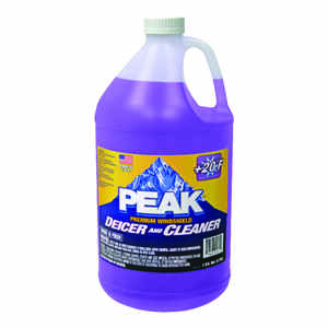 Peak  Premium Windshield  Windshield Cleaner/De-Icer  Liquid  1 gal.