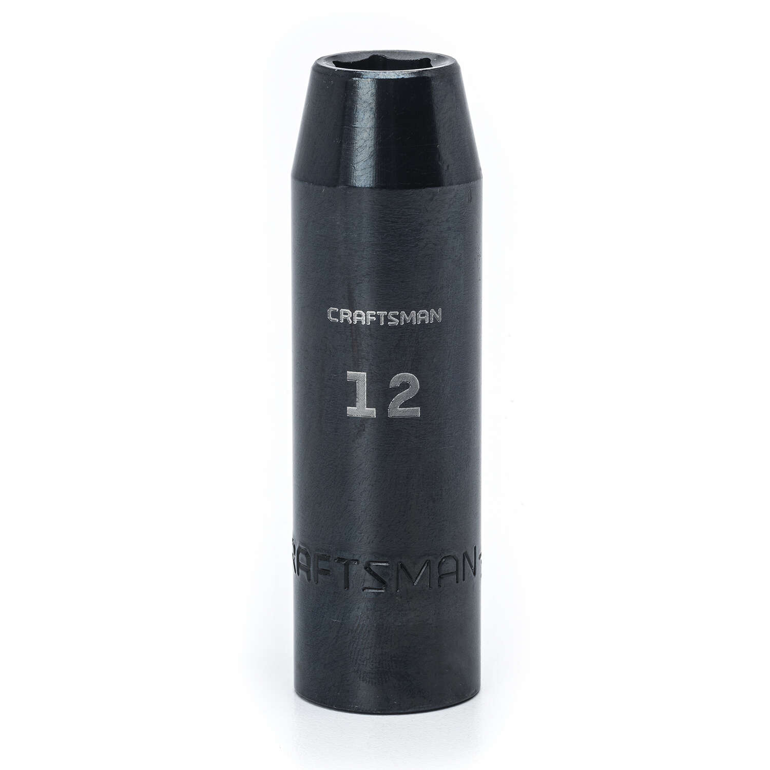 Craftsman  12 mm  x 1/2 in. drive  Metric  6 Point Deep  Deep Impact Socket  1 pc.