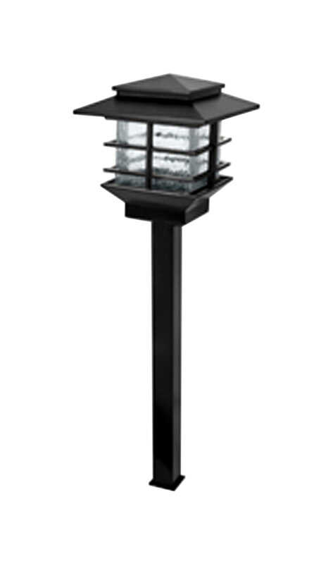 Paradise  Black  Low Voltage  LED  0.3 watts 1  Pathway Light