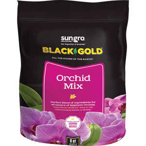 Black Gold  Orchid Mix  Organic Potting Soil