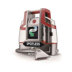 Hoover  Spotless  Bagless  Spot Lifter Carpet Cleaner  3.5 amps Standard  Red