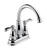 Delta  Porter  Chrome  Two Handle  Lavatory Faucet  4 in.