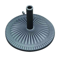 Bond  Black  Envirostone  Umbrella Base  21.5 in. L x 21.5 in. W x 13.18 in. H