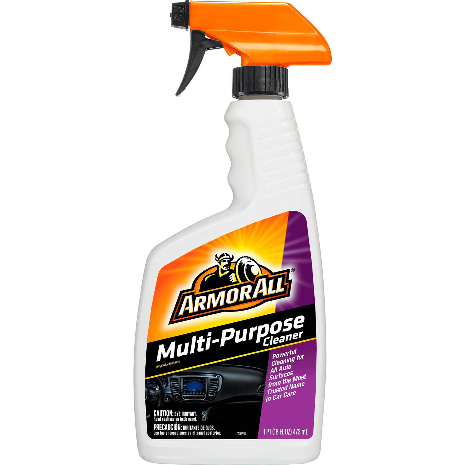 Armor All  Multi Purpose  Leather/Rubber/Vinyl  Cleaner/Conditioner  16 oz. Bottle